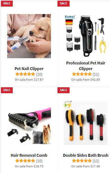 shih tzu grooming tools