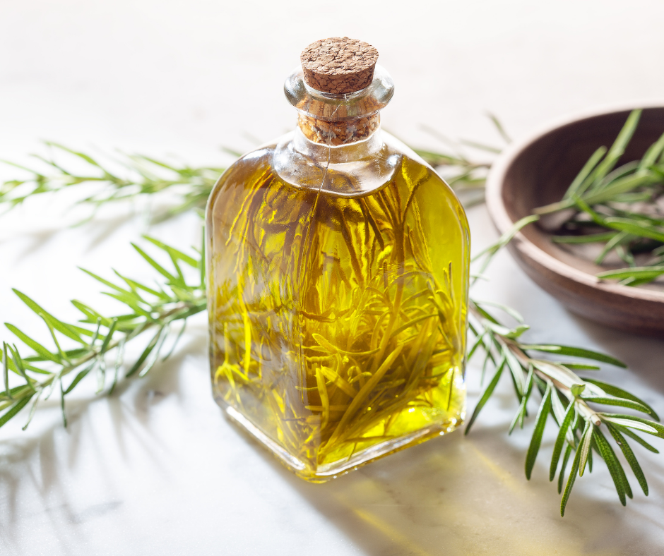 Natural Ways to Prevent Fleas lemon grass and rosemary