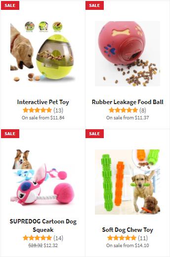 Shih Tzu Dog Toys