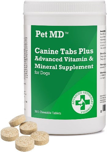 Shih tzu's Health Vitamin Supplements