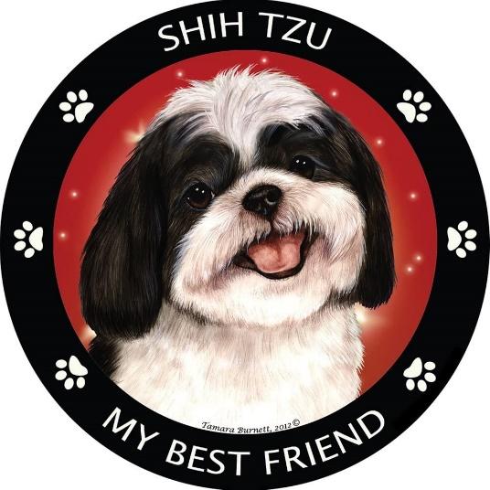 Shih Tzu Car Magnet