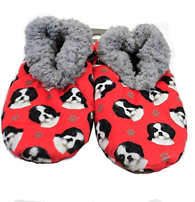 shih tzu slippers